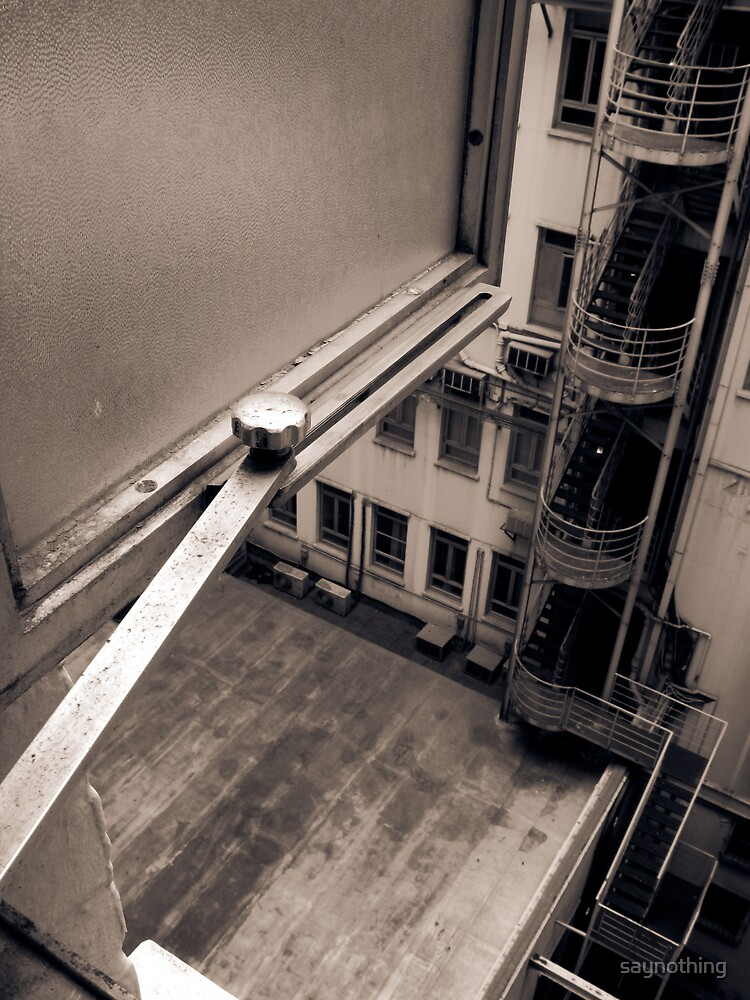 Scene from a window 1 by saynothing
