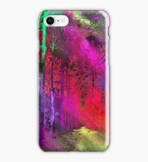 Psychedelic Forest 2 iPhone Case/Skin