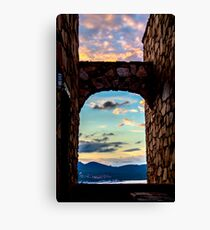 Sardinia Horizon Canvas Print