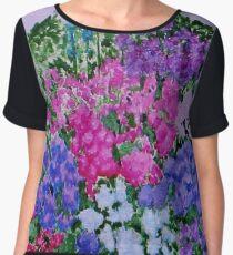 Flower Box Women's Chiffon Top