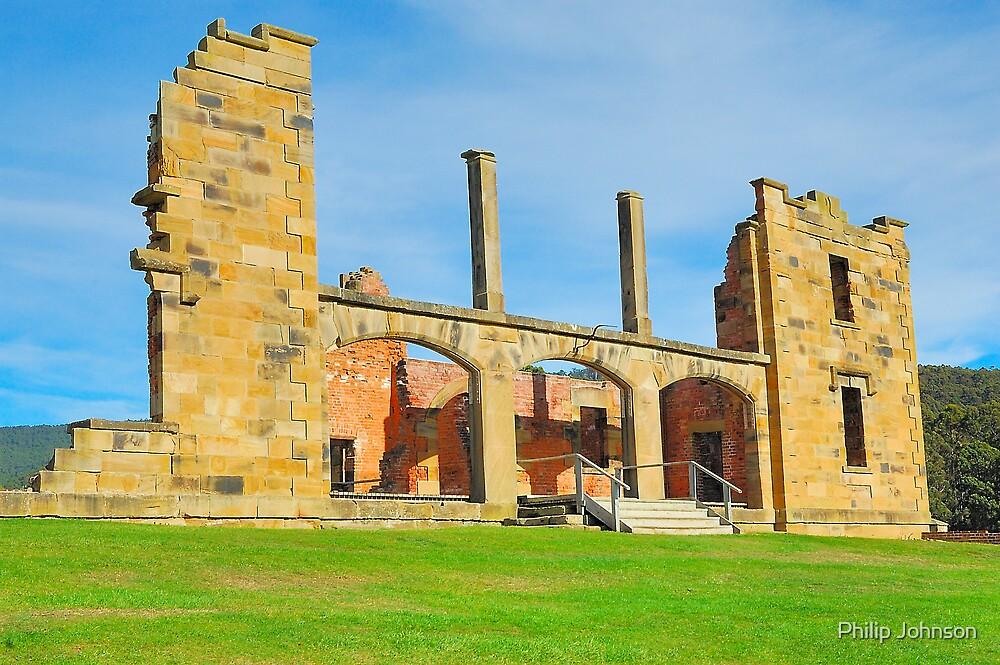 Gone But Not Forgotten - Port Arthur Historic Site , Tasmania by Philip Johnson