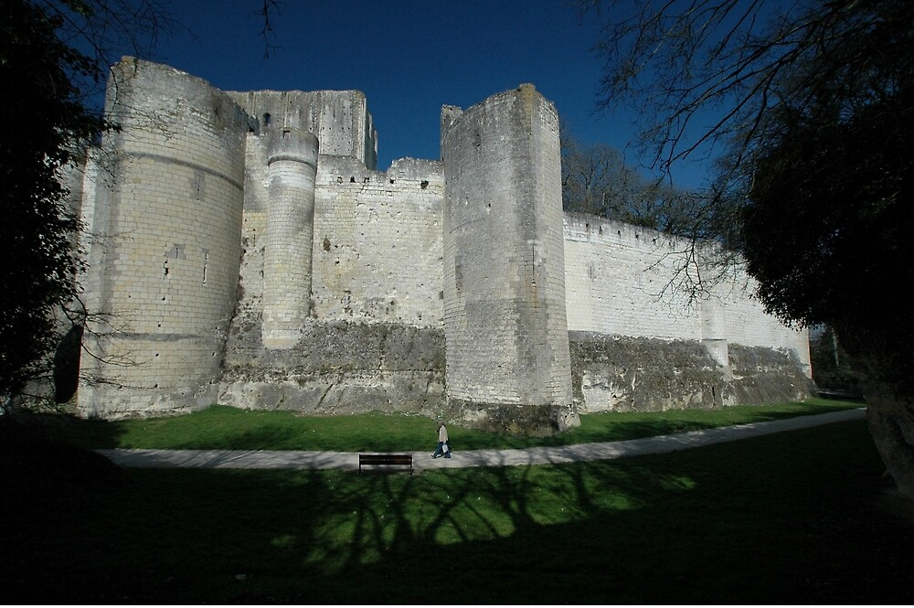 Medieval City, Loches, France, Europe 2012 by muz2142