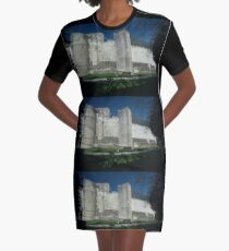 Medieval City, Loches, France, Europe 2012 Graphic T-Shirt Dress