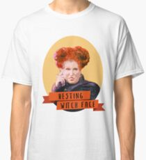 Resting Witch Face -winifred Sanderson Hocus Pocus Classic T-Shirt