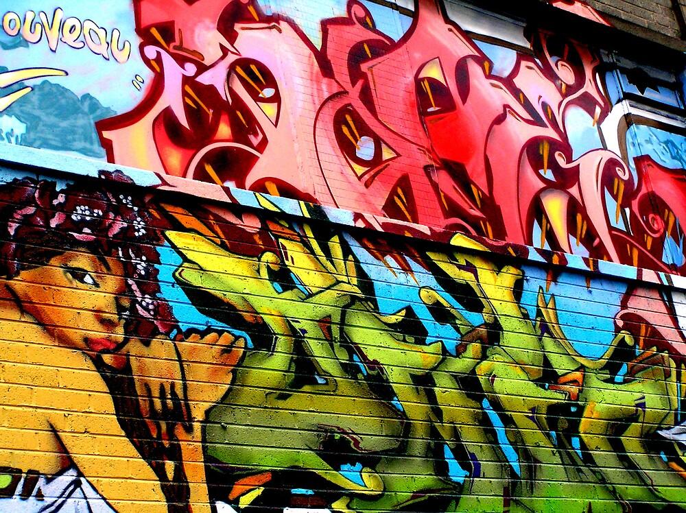 Dublin Street Art by Kiwikiwi
