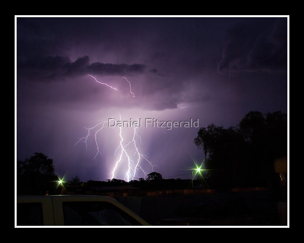 Coolgardie Summer Lighning by Daniel Fitzgerald