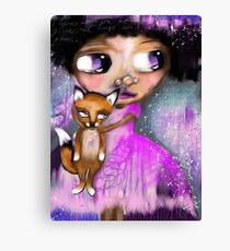 My Friend Mr Fox Canvas Print