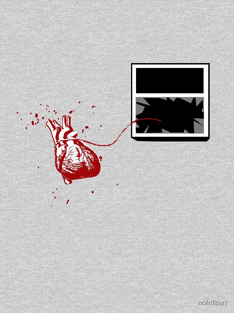 Broken Heart Theory (After Banksy) by nofrillsart