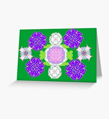 Digital Garden Greeting Card