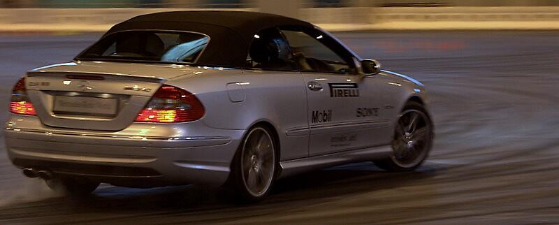Clk 63 Amg Mercedes by Richard Scott