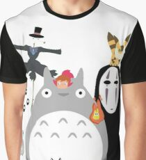ghibli Graphic T-Shirt