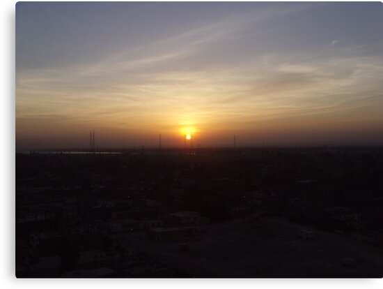 Sunrise over luxor, Egypt! by sophielouisep