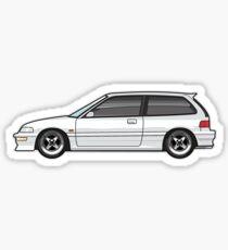 EF white Sticker