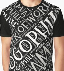 Are You A Lover of Words?  Graphic T-Shirt