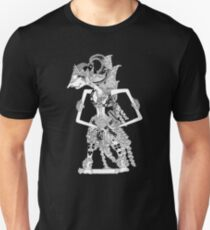 Wayang Kulit (Indonesia leather shadow puppet) Unisex T-Shirt