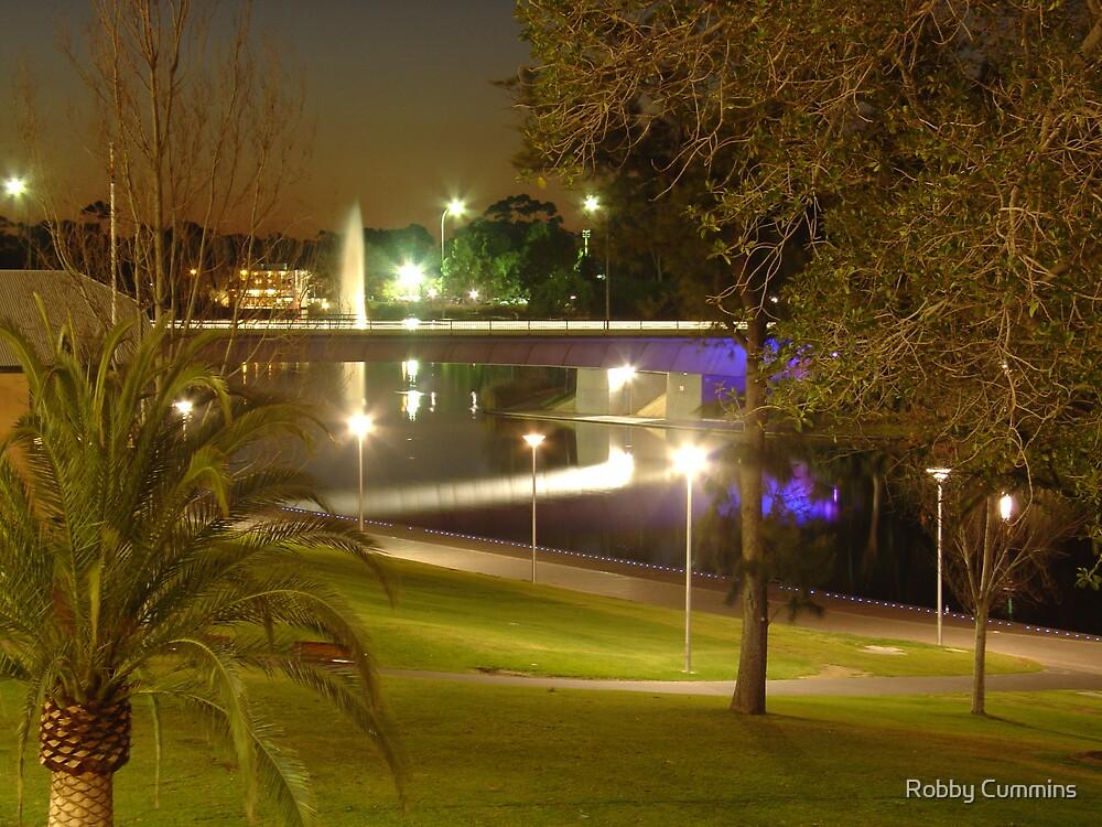 Morphett Street Bridge - Adelaide South Australia by Robby Cummins