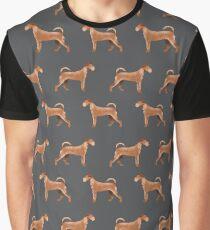 Irish Terrier dog breed pet pattern dog art pet friendly terriers portrait by PetFriendly Graphic T-Shirt