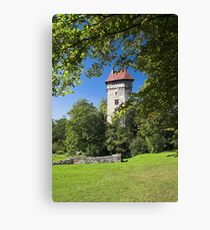 Burg Sponeck Canvas Print