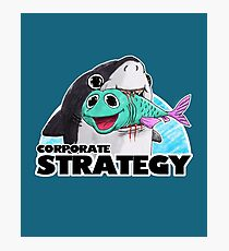 Corporate Strategy Photographic Print