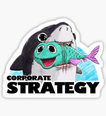 Corporate Strategy Sticker