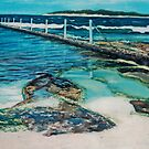 Cronulla Rockpool by Kim O'Malley