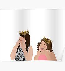 Broad City KWEENS Abbi and Ilana Poster