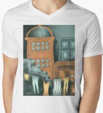 Washing Line Mens V-Neck T-Shirt