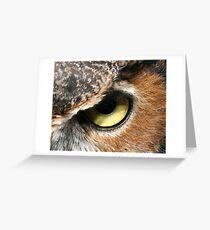 Eye - Eye  Greeting Card