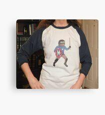 Pepe Based Stickman Victory Baseball shirt Canvas Print