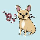 French Bulldog - Fawn by agrapedesign