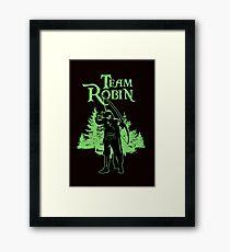 Team Robin.  Framed Print
