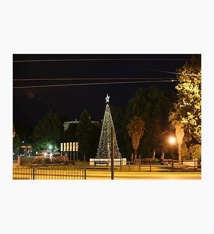 Lighting of the Christmas Tree - Bendigo Photographic Print