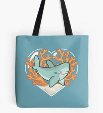 BYTE the Great White Shark Tote Bag