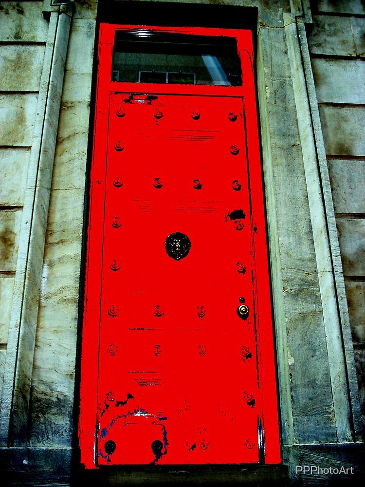 Door on Heritage Building by PPPhotoArt