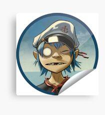 2D Sailor Canvas Print