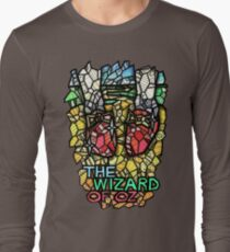 The Wizard of Oz - Stained Glass Art Long Sleeve T-Shirt