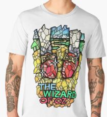 The Wizard of Oz - Stained Glass Art Men's Premium T-Shirt