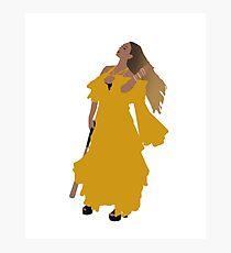 Queen Bey Hold Up Lemonade Photographic Print