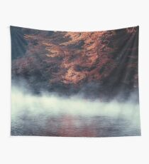 Nature*s Mirror - Fall at the River Wall Tapestry