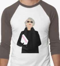 Miranda Priestly- The Devil Wears Prada Men's Baseball ¾ T-Shirt