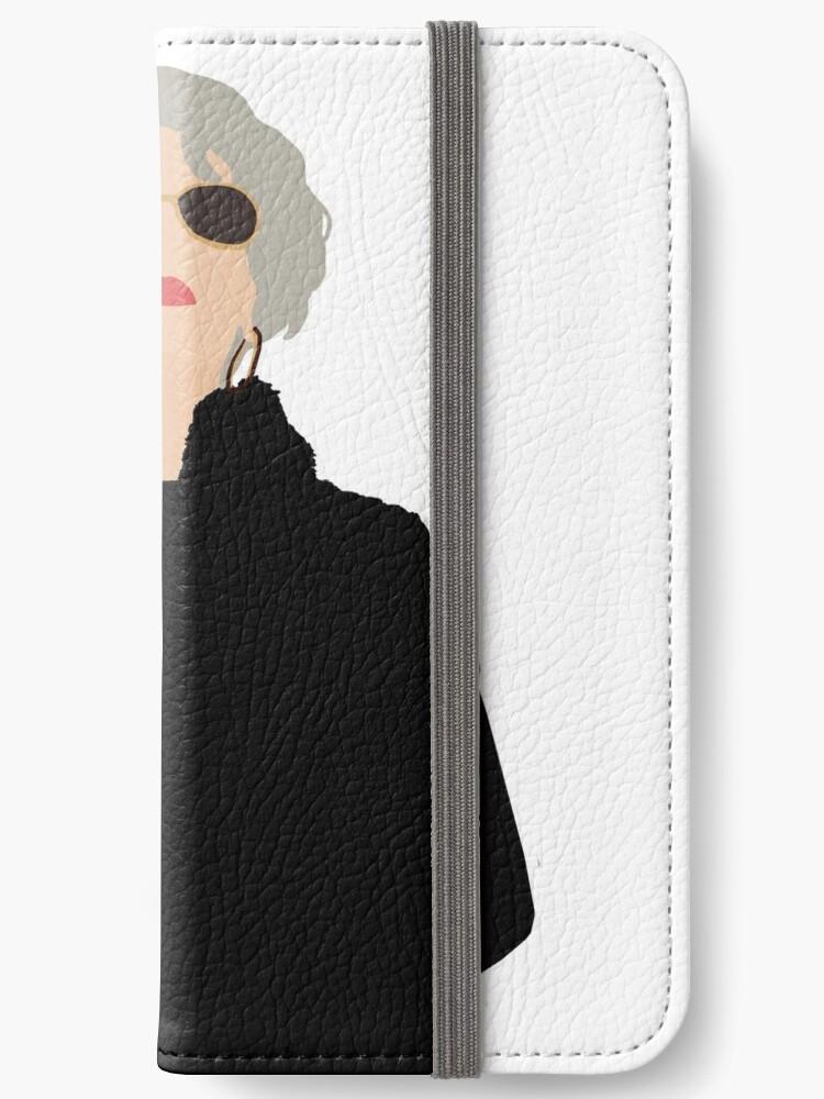best website e467a 38c13 'Miranda Priestly- The Devil Wears Prada' iPhone Wallet by thefilmartist