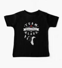 Camiseta para bebé Equipo Klaus.