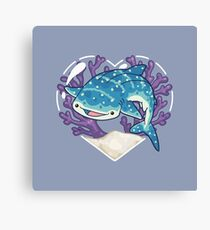 NOM the Whale Shark Canvas Print