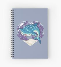 NOM the Whale Shark Spiral Notebook