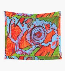 Our Ever Flowing Sense Of Earth  Wall Tapestry