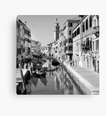Rio di San Barnaba Venice Canvas Print