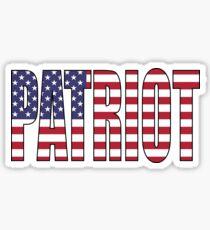 Patriot (USA) Sticker