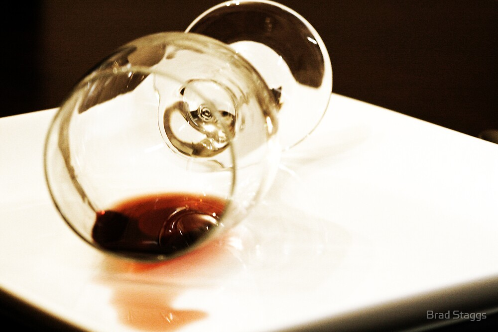 Spilled Wine by Brad Staggs
