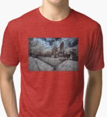 Mt Holly Cemetery - Infrared Tri-blend T-Shirt