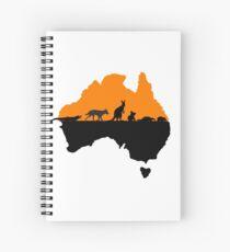 Australia Spiral Notebook